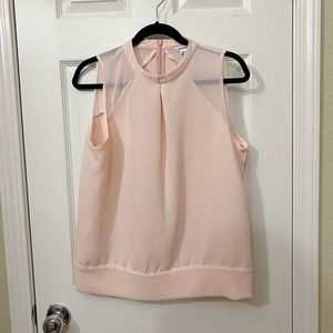 💕 Calvin Klein Pink sleeveless blouse 💕